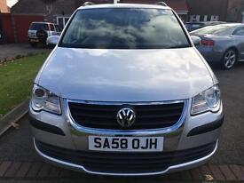 Volkswagen Touran 1.9 TDI S 5 Door 7 Seats *Long MOT*