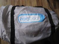 Single raised Aero bed