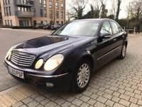 Mercedes Benz E240 Elegance Auto **PETROL**Sat Nav**Leathers** not e320 e280 cdi