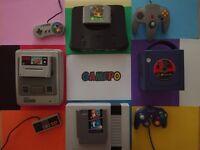 Gamepo Retrogames Nintendo SNES NES GAMECUBE WII N64 64 GAME BOY