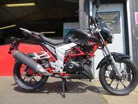 2017 Lexmoto Venom EFI - 125cc - £2550. Euro 4, Finance subject to status. Learner Legal.