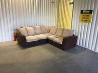 Fabric corner sofa in very good condition // delivery available