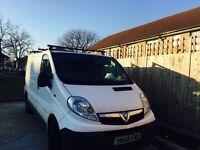 58/09 Vauxhall vivaro tax and mot