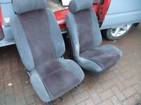 FORD ESCORT XR3i SEATS