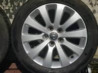 "Vauxhall Astra J 17"" alloys (diesel)"