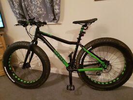 Voodoo wazoo fat bike disc brakes shimano gears