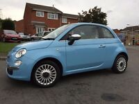 FOR SALE: **Fiat 500 0.9 Twin Air Lounge Start/Stop** Blue