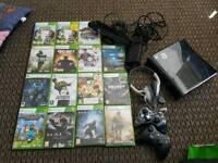Xbox 360, games, Kinect, skylanders figures & headset