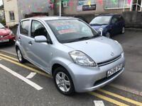 2006 06 plate diahatsu sirion 1.0 se new mot, very clean car just £30 tax