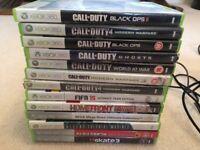 Xbox 360 500gb plus games/ accessories