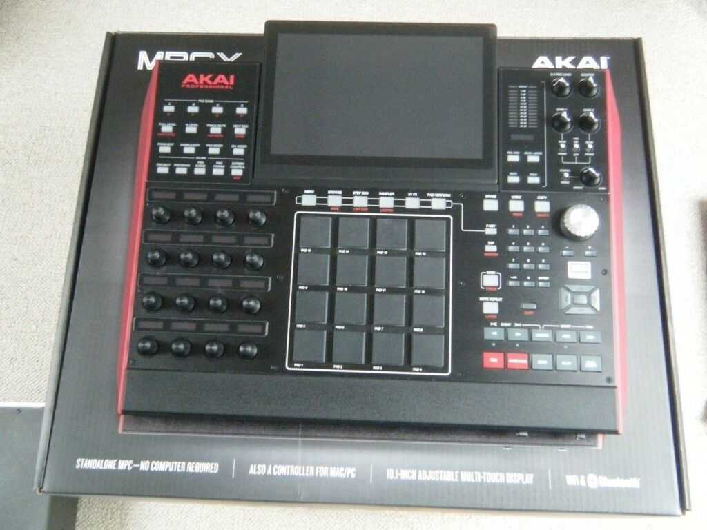 Akai MPC X boxed like new with all current expansions | in High Wycombe,  Buckinghamshire | Gumtree
