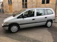 Vauxhall zafira 7 seats new mot 77,000 miles