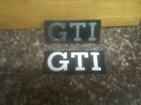 ^^^ MK1 Vw Golf GTI Grill Badges. MK2 And Others Available. ^^^ £20