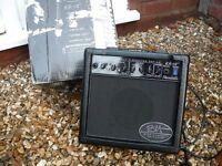 Randall Kirk Hammett Signature Metallica KH-15 Guitar Combo Amp overdrive 15 watts marshall vox