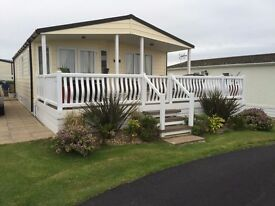 PRICE REDUCED Luxury 2 bedroom holiday lodge in Nefyn, Gwynned on the Llyn peninsula with Sea views