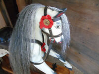 Antique Patterson-Edwards Rocking Horse c.1930-40. Small size : Ideal first horse!