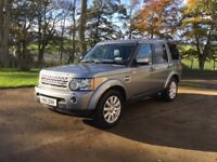 Land Rover Discovery 4 HSE 3.0 SDV6 (255hp) 8-speed automatic, grey 5-door diesel, ready for winter