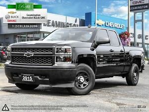 2015 Chevrolet Silverado 1500 LOW KM'S WELL MAINTAINED 4X4 V6