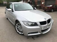 57 plate - bmw 3 series - automatic - m sports - 11 months mot - nice alloys - leather seat