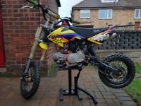 Pit Bike Stomp 125cc, Super Stomp ,fully working condition, Crosser, mx, dirbike