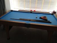 "Pool table 6"" x 3"""