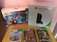 XBOX 360 CONSOLE & GAMES BUNDLE