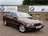 BMW E39 523i SE Saloon, Manual, 2000 / W Reg, 91k Miles, FSH, MOT: 1 Year (No Advisories)