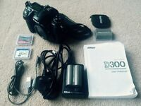 Nikon D300 body plus extras