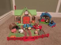 Little people farm and police station