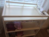 3 tier ikea changing table