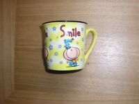 A collectable smile mug: Bubblegum.