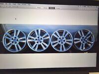 """17"""" genuine oem Volvo Alloy wheels"""