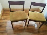 2 vintage chairs bargain