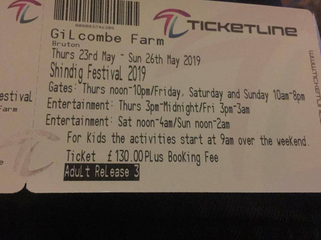2 x Shindig Tickets | in Gloucester Road, Bristol | Gumtree
