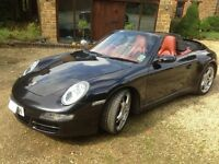 Porsche 911, 3.8L, 997, 56 Plate, Manual, Convertible Carrera, 350 bhp, 4 Wheel Drive, Wide Body