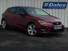 Seat Leon 2.0 TDI 184 FR 5dr [Technology Pack] (metallic - montsant red) 2014