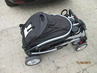 graco quatttro twin pushchair