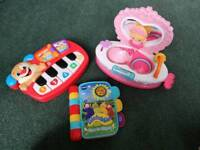 Small bundle of baby/toddler toys