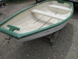 8ft2 grp clinker dinghy