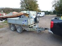 Ifor Willams Tipping Trailer