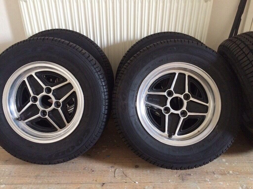 Ford Escort Mk1 Rs2000 Alloy Wheels 5 1/2\