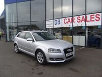 2010 10 AUDI A3 2.0 SPORTBACK TDI SE 5D AUTO 138 BHP***GUARANTEED FINANCE***PART EX WELCOME***