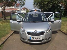 Vauxhall Agila 1.2 i 16v Design 5dr , 6 MONTHS FREE WARRANTY, REAR CAMERA, BLUETHOOTS, DVD PLAYER