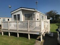 BK GROSVENOR 2008 static caravan sited at Skipsea sands holiday park.
