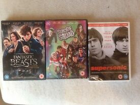 DVDs unopened