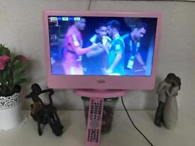 Polaroid 15.6inch pink led tv