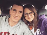 Cheerful, kind couple is looking for a double room