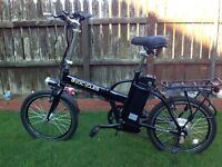 Brand New Biocycle Electric Folding Bike