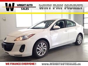 2012 Mazda MAZDA3 GS| LEATHER| SUNROOF| BLUETOOTH| 88,044KMS