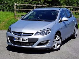 2014 64 Vauxhall Astra 16V SRi 140ps, Manufacturer Warranty, Low Mileage with History, One Owner!